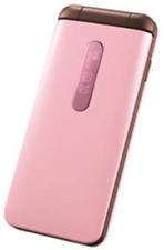 KYOCERA au GRATINA 4G PINK KYF31 foldable cell phone Liquid crystal displays
