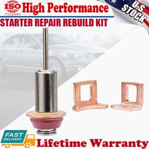 For Toyota Subaru Acura Starter Solenoid Repair Rebuild Kit Contact Plunger Set