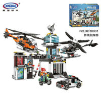Xingbao Building Blocks Easter Police Fighting Center Car Model Gifts 1323pcs