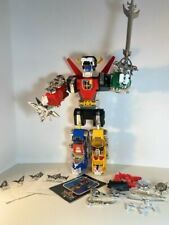 Voltron Complete Lions Panosh Place Includes Rare Silver Weapons and 4 Lion...