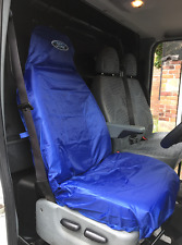 FORD TRANSIT CONNECT VAN SEAT COVER PROTECTOR 100% WATERPROOF / BLUE
