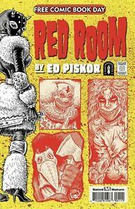 RED ROOM FCBD 2021 EDITION Wraparound NO STAMP Ed Piskor Fantagraphics NM