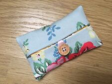 Handmade Packet Tissue Holder Case Made Using Cath Kidston Park Rose Fabric