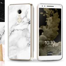 T-Mobile REVVL 2 / Alcatel 3 (2018) Slim Lightweight Marble Phone Case Evocel