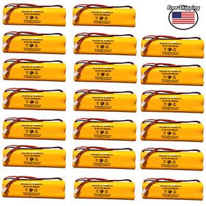 (20 Pack) DAA650B LITHONIA 4.8v 650mAh D-AA650B All Fit E1021R 800mah Ni-CD AA
