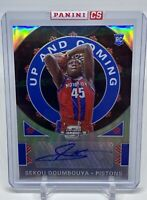 2019-20 Contenders Optic SEKOU DOUMBOUYA RC Up And Coming Prizm Autograph #/125