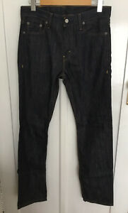 Levi 513 Denim Slim Straight Jeans Size W30, L32, NWOT