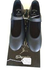 Dance Tap Shoes by Capezio Black Buckle Up Child's Size 4.5M