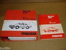 1989 Mazda 929 wiring service shop dealer repair Factory Binder manual