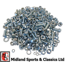 UNF - MGB - ASSORTMENT OF UNF BOLTS, WASHERS, NUTS CAR FIXING KIT