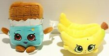 Shopkins Cheeky Chocolate & Buncho Bananas Stuffed Plush 6""