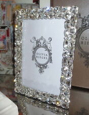 "Olivia Riegel Roxanne Crystal 5"" x 7"" Photo Frame  NEW! In Box!"