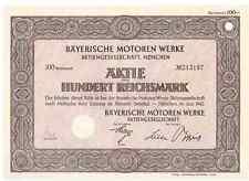 BMW Bayerische Motoren Werke AG 1942 München