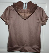 Womens Juicy Couture Hooded Sweater Vest Size Small