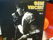 "gene vincent.""rarities"" vol.2.lp.or.fr.vinyl rouge."