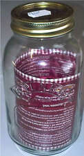 1 Litre Glass Kilner Jar With Screw On Lid