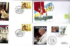 Vatican  Jean Paul II  FDC&/or max card  div lot II   274
