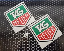 Tag Heuer Stickers High Quality 7-10 year vinly F1 classic