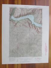 Grand Coulee Dam Washington 1955 Original Vintage USGS Topo Map