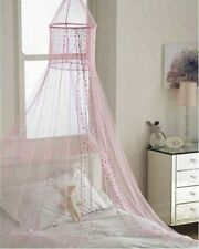 Popsicle Pink Voile Children's Bed Canopy NEW