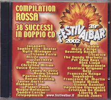 Festivalbar 2002 - TIZIANO FERRO ALIZEE' ZUCCHERO MOBY PAULINA RUBIO GABIN 2 CD