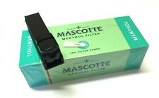 MASCOTTE MENTHOL MAKE YOUR OWN CIGARETTE FILTER MYO WHITE TIPS TUBING MACHINE
