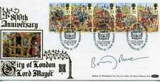 More details for benham gold 500 first day cover lord mayor 1989 signed boris johnson