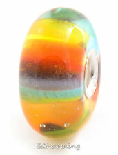 Authentic Trollbeads Glass Rainbow 61351 (Incl. Orig. Packaging)