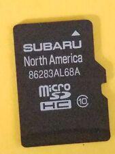 86283AL68A Subaru Micro SD Navigation Map Card OEM 2016 Legacy Outback