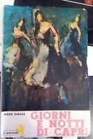 Piero Girace Giorni e notti di Capri  Il sagittario 1964
