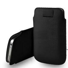 """Etui / Housse Noir avec tirette d'extraction pour Apple iPhone 8 (4,7"""")"""