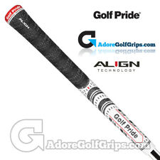 Golf Pride New Decade Multi Compound MCC ALIGN Midsize Grips - White x 1