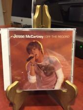 OFF THE RECORD BY JESSEE MCCARTNEY:  (CD, 2005,Hollywood Records) Mfg. Sealed