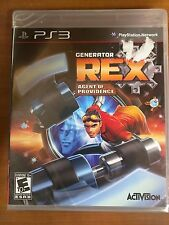 PS3 Generator REX Agent of Providence Game !NEW SEALED!