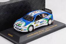 2005 CITROEN XSARA WRC # 19 RALLY ACROPOLIS/Pons/Del Barrio 1:43 IXO ALTAYA