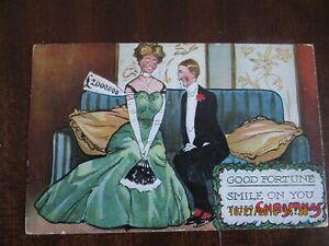vintage comic postcards