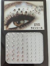 new Acrylic Crystal Gems Bling Beads Eye Face Stickers Makeup Rhinestones Tattoo