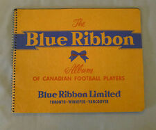 1954 CFL Blue Ribbon Canadian Football Players Empty Album