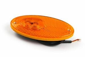 Hella LED Orange Side Marker Reflector Light Fiat Ducato Bessacar Motorhome