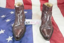 Dettagli su Stivali MONTREX (Cod. ST2363) usato N.43 Pelle nero Uomo Cowboy Biker stivaletto