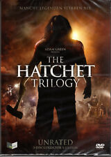 Hatchet Trilogy , 3 Discs Collector's Edition , 100% uncut , new / sealed