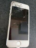 Apple iPhone 5s - 16 Go - Argent - HS - pour pièces