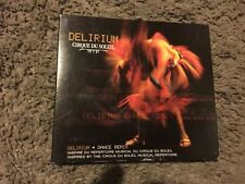 CIRQUE DU SOLEIL, DELIRIUM, CD, VG-SHAPE