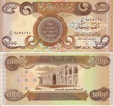 10,000 Iraqi Dinar (10 x 1000 Dinar) Uncirculated Notes for Collectors - CRISP