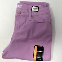 No Boundaries Jeans Junior Low Rise Stretch Skinny Fit Size 7 Pink Orchid  New
