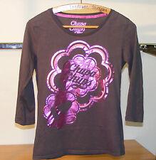 T-shirt à manches longues marque cache- cache taille 2 « CHUPA CHUPS »