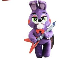 Five Nights At Freddy 10 Inch Bonnie Rabbit Holding Guitar Plush Figure Toy
