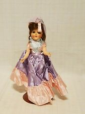 """Vintage Plastic 10-1/2"""" Doll with open & shut eyes and movable joints"""