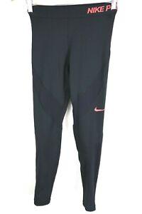 Womens Nike Pro Hyperwarm Compression Tights Black sz Small