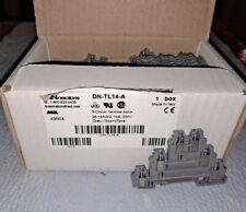 New 25 Pc Dinnectors Dn Tl14 A 3 Circuit Terminal Block 26 14awg 10a 300v